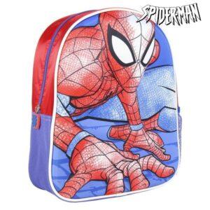 Mochila Infantil 3D Spiderman Vermelho