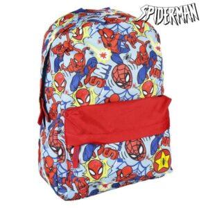 Mochila Escolar Spiderman Vermelho Azul