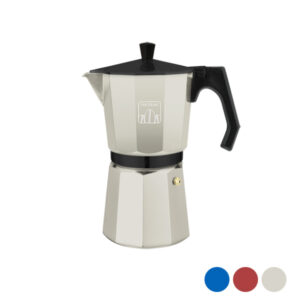 Cafeteira Italiana Cecotec Cumbia Mimoka 300 150 ml (3 Kopjes) Beige