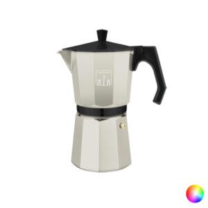 Cafeteira Italiana Cecotec Cumbia Mimoka 600 300 ml (6 Kopjes) Preto