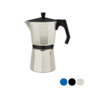 Cafeteira Italiana Cecotec Cumbia Mimoka 1200 600 ml (12 Kopjes) Preto