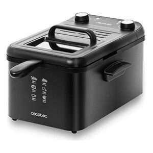 Fritadeira Cecotec CleanFry Infinity 3000 3 L 2400W Preto