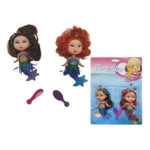Set Bonecas Little Mermaids (2 uds)
