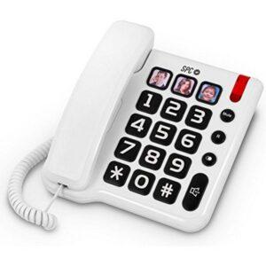Telefone Fixo para Idosos SPC 3294 Branco