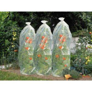 Nature Cobertura plástica para plantações de tomates 1500 x 50 cm - PORTES GRÁTIS