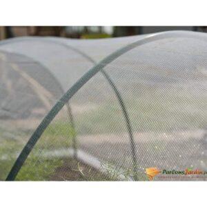 Nature Rede à prova de insetos 2x10 m transparente - PORTES GRÁTIS