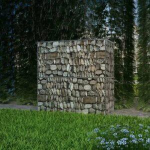 Cesto gabião aço galvanizado 100x50x100 cm - PORTES GRÁTIS