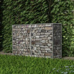 Cesto gabião aço galvanizado 150x50x100 cm - PORTES GRÁTIS
