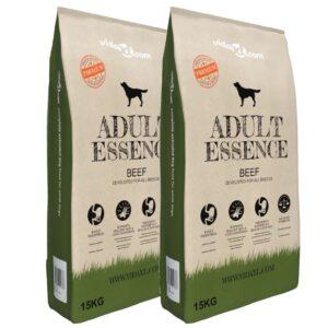 Ração premium para cães Adult Essence Beef 2 pcs 30 kg - PORTES GRÁTIS