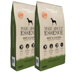 Ração premium cães Maxi Adult Essence Beef & Chicken 2 pcs 30kg - PORTES GRÁTIS