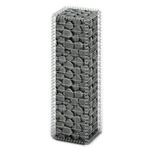 Cesto gabião arame galvanizado 100 x 30 x 30 cm  - PORTES GRÁTIS