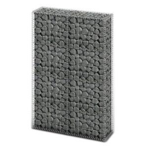 Cesto gabião arame galvanizado 150 x 100 x 30 cm  - PORTES GRÁTIS
