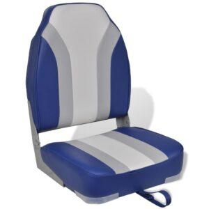 Cadeira de barco dobrável com encosto alto - PORTES GRÁTIS