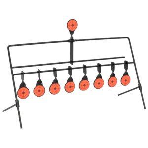 Alvo de tiro rotativo c/ redefinição automática 8 + 1 alvos - PORTES GRÁTIS