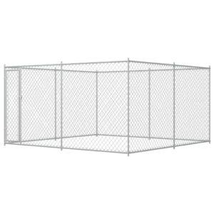 Canil de exterior 4x4x2 m - PORTES GRÁTIS