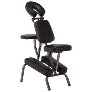 Cadeira de massagens couro artificial 122x81x48 cm preto - PORTES GRÁTIS