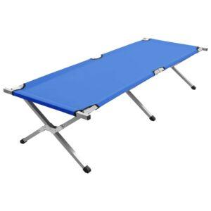 Cama de campismo 190x74x47 cm XL azul - PORTES GRÁTIS