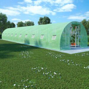 Estufa com fundação em aço 45 m² 15x3x2 m - PORTES GRÁTIS