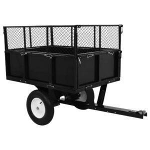 Reboque oscilante para trator de relvado 300 kg de carga - PORTES GRÁTIS
