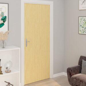 Autocolante para porta 2 pcs 210x90 cm PVC cor carvalho japonês - PORTES GRÁTIS