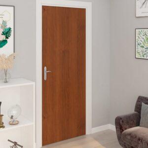 Autocolante para porta 2 pcs 210x90 cm PVC cor carvalho claro - PORTES GRÁTIS