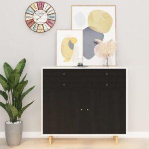 Autocolante para móveis 500x90 cm PVC madeira escura - PORTES GRÁTIS