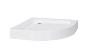 Base de chuveiro 70x70x13,5 cm acrílico branco - PORTES GRÁTIS
