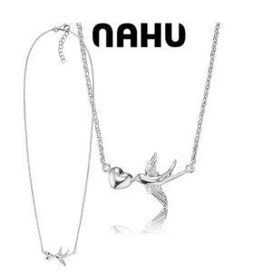 Colar Nahu Prata 925®NAN-LOVEBIRD