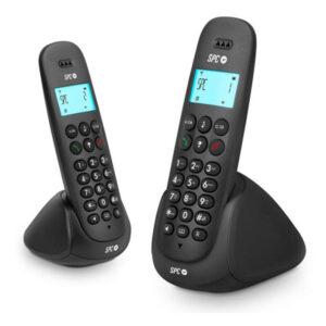 Telefone sem fios SPC 7312N DECT (2 pcs) Preto