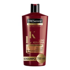 Champô Liso Keratina Tresemme (700 ml)