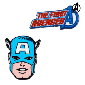 Fecho Captain America The Avengers Azul