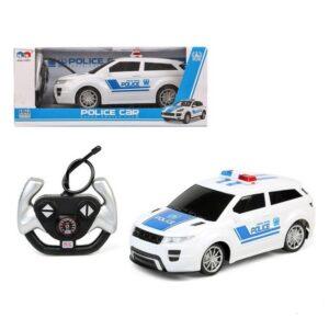 Carro Rádio Controlo Police Azul