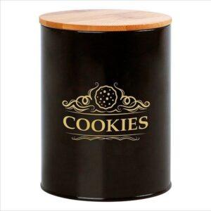 Lata de Metal Cookies 110937 Preto