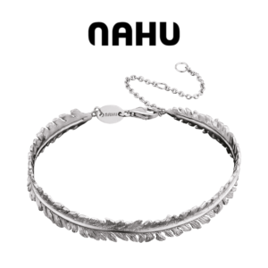 Pulseira Nahu Prata 925® Nab Laurus - Feito á Mão