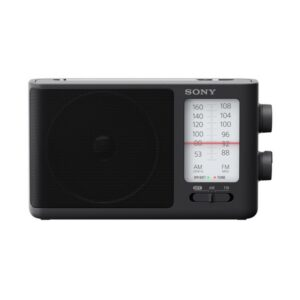 Rádio Transistor Sony ICF-506 AM/FM Preto