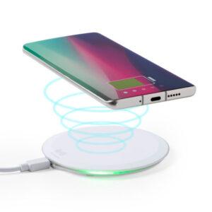 Carregador Sem Fios para Smartphones Qi 10W 146520 Branco