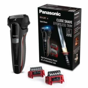 Máquina de Barbear Elétrica Recarregável Panasonic  Preto