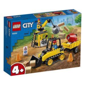 Playset City Construction Bulldozer Lego 60252