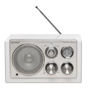 Rádio Portátil Denver Electronics TR-61 Branco