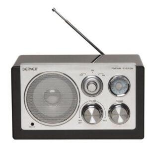 Rádio Portátil Denver Electronics TR-61 Preto