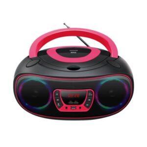 Rádio CD MP3 Denver Electronics TCL-212 Bluetooth LED LCD Azul