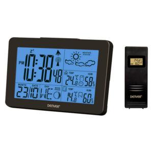Estação Meteorológica Multifunções Denver Electronics WS-530 Preto