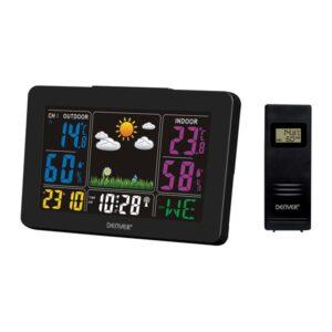 Estação Meteorológica Multifunções Denver Electronics WS-540 Preto