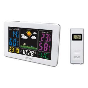 Estação Meteorológica Multifunções Denver Electronics WS-540 Branco