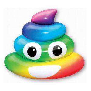 Colchão Insuflável Rainbow Poo (107 x 121 x 26  cm)