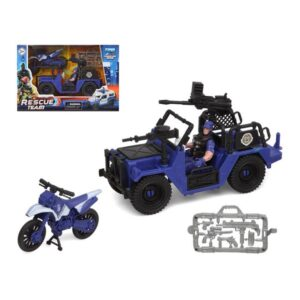 Playset Police Rescue Team Azul