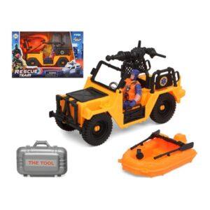 Playset Rescue Team Amarelo
