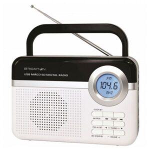 Rádio Portátil BRIGMTON BT 251 B Branca
