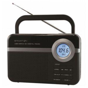 Rádio Portátil BRIGMTON BT 251 N Preto