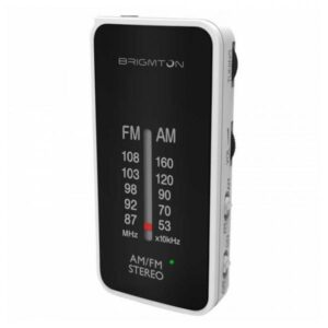 Rádio Portátil BRIGMTON BT224 Branco